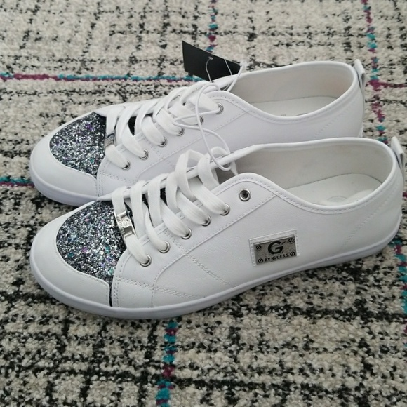 G By Guess Matrix Shoes White Leather